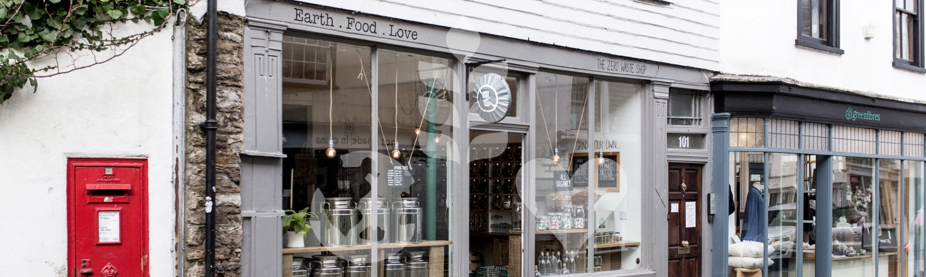 The Zero Waste Shop, Totnes, Devon - organic, plant-based, bulk-buy